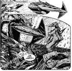 Nemesis i Henry Flints streg, der klart peger tilbage mod Kevin O'Niells oprindelige tegninger