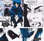 Sandman konfronterer Richard Madoc.