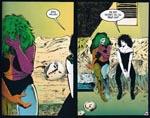 Døden trøster Element Girl.