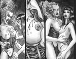 Lesbisk vampyr-lir i historien 'The Symposium'