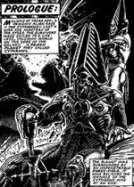 De dæmoniske Cythronianere, her tegnet af Glenn Fabry.