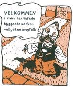 Et godt eksempel på hvordan Kjeldsmark bruger sproget. Her er det krofatter der taler. Andre steder bliver der talt mere hårdt gadeslang, der er inspireret af hiphop og storbyen