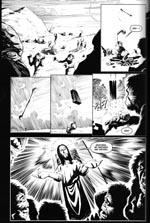Fra 'Future Shock'-historien 'The Last Supper', der ironiserer over både Jesus og 'Rumrejsen år 2001'.