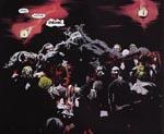 Den ubehagelige vampyrfyrste og hans børn fra 'A Love Like Blood'-historien.