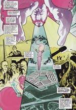 I et alternativt univers overtager hippierne og syrehovederne Pentagon og dermed USA - fra titelhistorien 'Storming Heaven'.