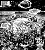 Endnu en af galaksen bizarre ødemarker, hvor man bestemt ikke kan lide Strontium Dogs.