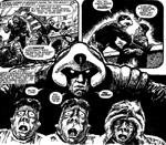 Blandt Johnny Alphas specielle mutantevner er, at han kan se ind i folks sin og afgøre, om de lyver.