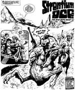Atter en støvet ørkenplanet. Dem er der mange af i 'Strontium Dog', men det hører jo til western-genren.