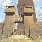Yvon de Portels fæstning.