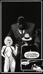 Den ret så hotte og konkurrende P.I. DeMarco og hendes gorilla