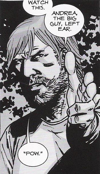 Walking Dead Comic Rick