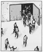 Zombierne overtager fængslet