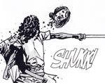 En zombie onduleres i samuraistil