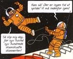 Tintin må redde kaptajnen indenbords efter at Haddock har besluttet sig for at tage hjem til Møllenborg!