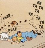 Tintin reddes fra et drive-by!