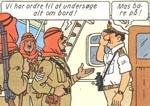Fra 1971-versionen: De britiske tropper er erstattet af arabiske.