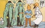Dupondterne efter at de har pådraget sig en højst besyndelig sygdom.