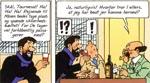 Haddock og Tintin får sig lidt af en overraskelse!
