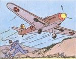 Fly fra det borduriske luftvåben - tyske Messerschmitts
