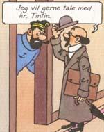 Professor Tournesol træder ind på scenen i 'Tintin'-serien.