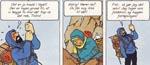 Kaptajn Haddock er parat til at ofre sit liv for Tintin.