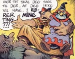 Trym og hans kommende brud Thor.