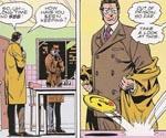 Dan Dreiberg AKA The Nite Owl får besøg af den maskerede psykopat-vigilante Rorschach