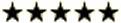 5 stjerner