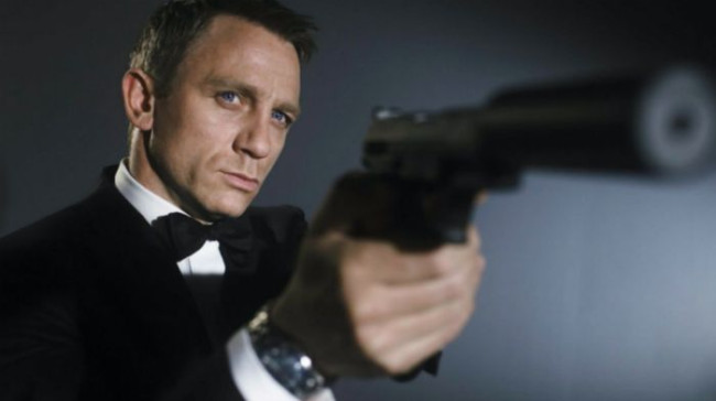 Daniel Craig vender tilbage i sidste Bond-film