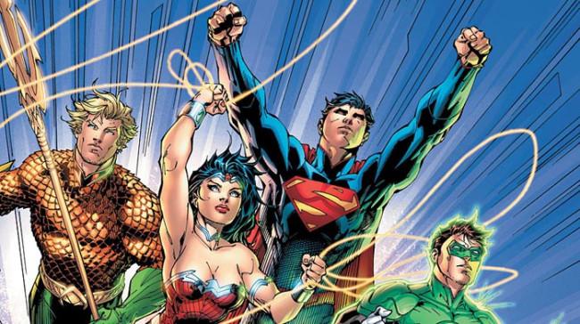 Justice League – Bog 1: Samling