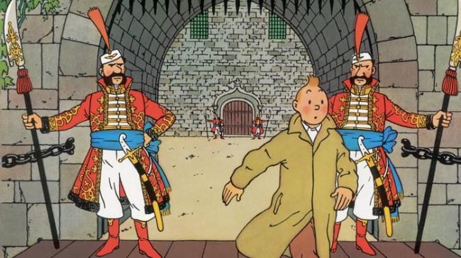 Tintins Oplevelser: Ottokars Scepter
