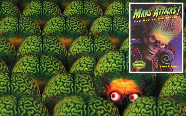 Mars Attacks!: The Art of the Movie