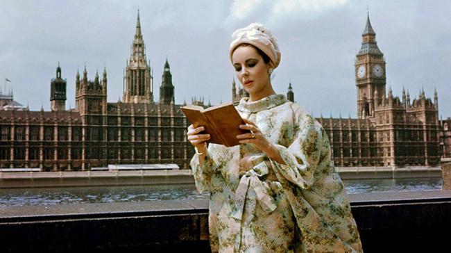 Elizabeth Taylor in London
