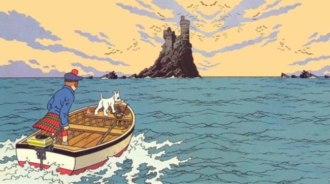 Tintins Oplevelser: Den Sorte Ø