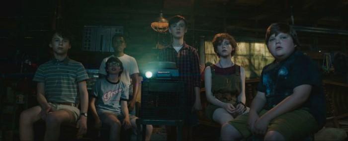 """Seks af de syv børn i """"The Losers Club""""."""