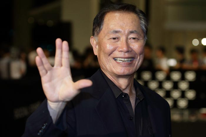 Den oprindelige Mr. Sulu, George Takei.